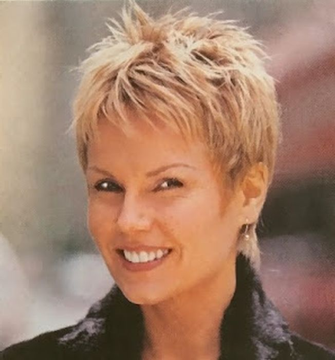 Short Hairstyles For Heart Shaped Faces Hairstyles For Women Short Spiky Hairstyles Very Short Hair Short Hair Styles 2014