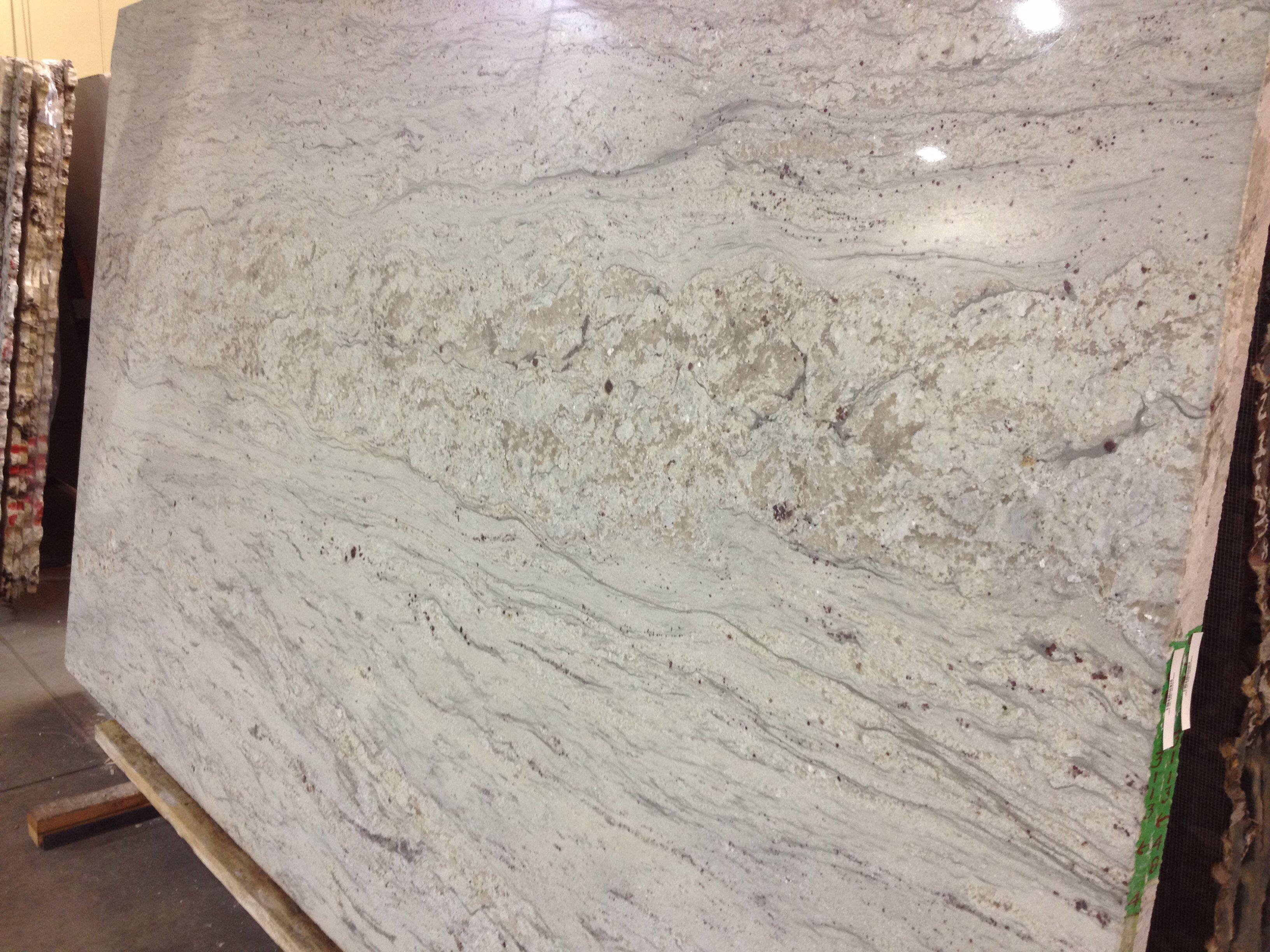 Small Crop Of River White Granite