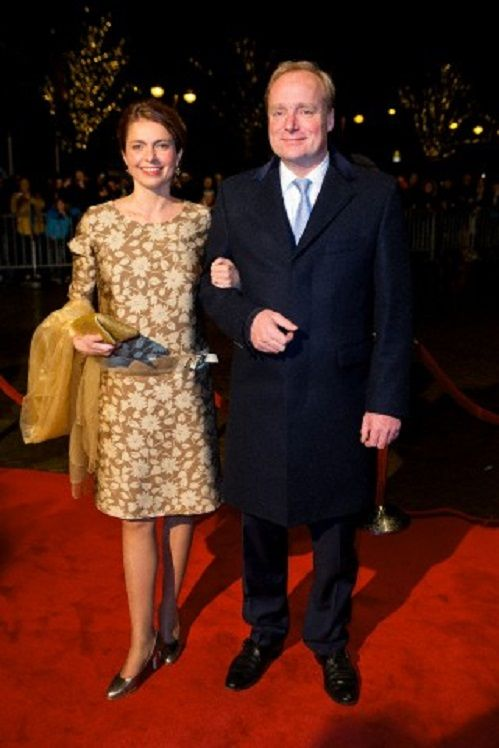 Prince Carlos and Princess Annemarie de Bourbon de Parme attend the kingdom's concert in the Netherlands, 30.11.13