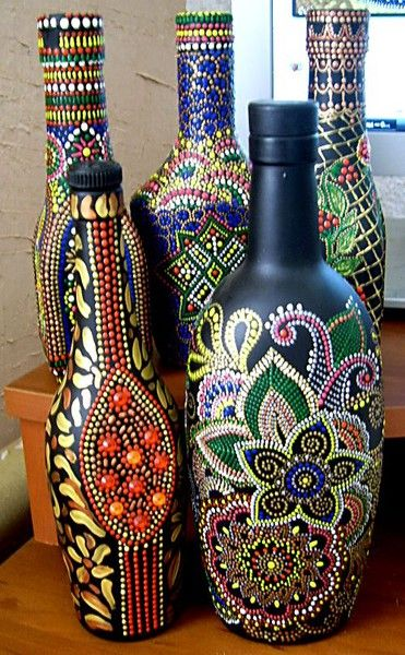 Pin de roxana mejia en BOTELLAS-CRISTAL-IDEAS Pinterest