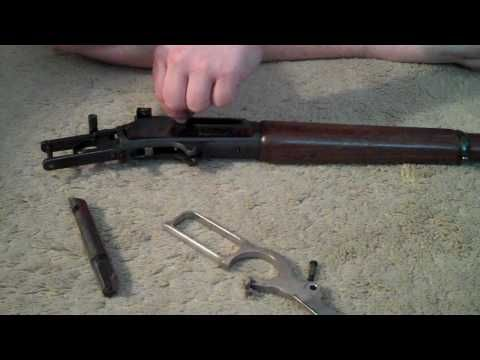 Disassembly Of The Marlin 336 Lever Action Carbine Gun Smithing