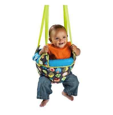 60a156e8c Johnny Jump Up Evenflo Joey Doorway Jumper Baby Bumbly Unisex Gray ...