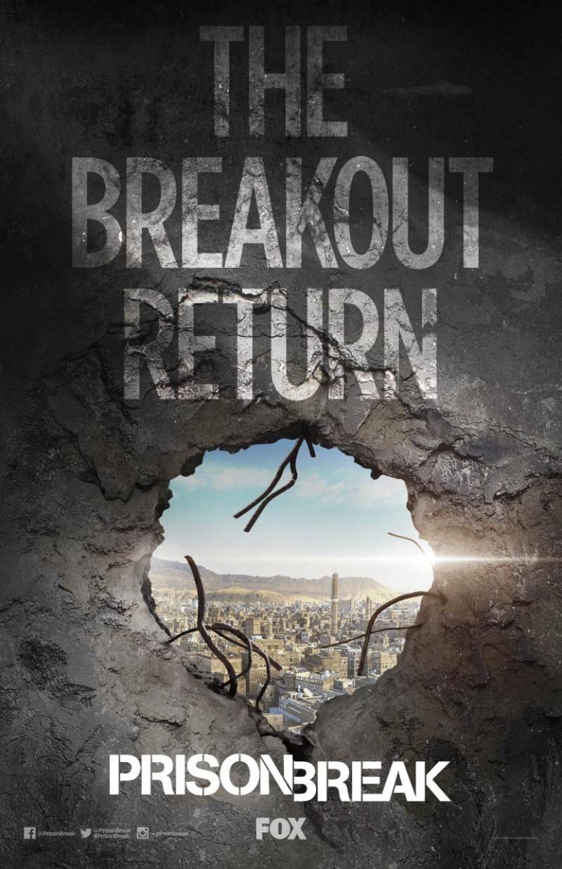 Prison Break Season 5 Poster 1 Goldposter Prison Break Prison Prison Break 5