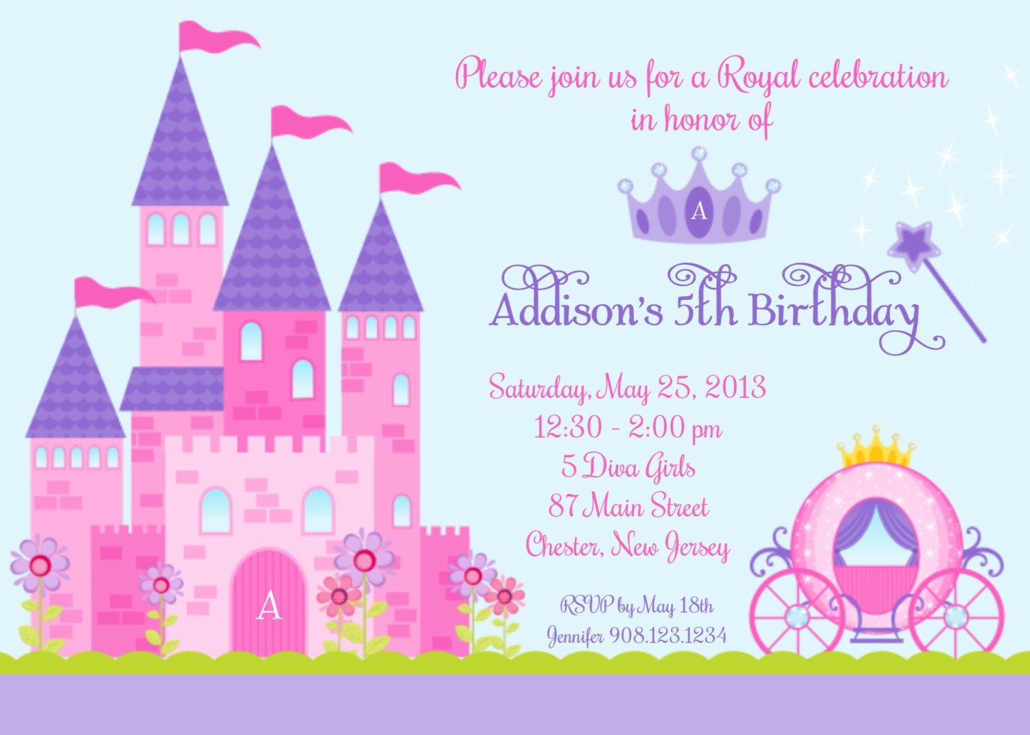 princess castle pictures google search princess cards princess castle party invitation custom digital invitation print yourself