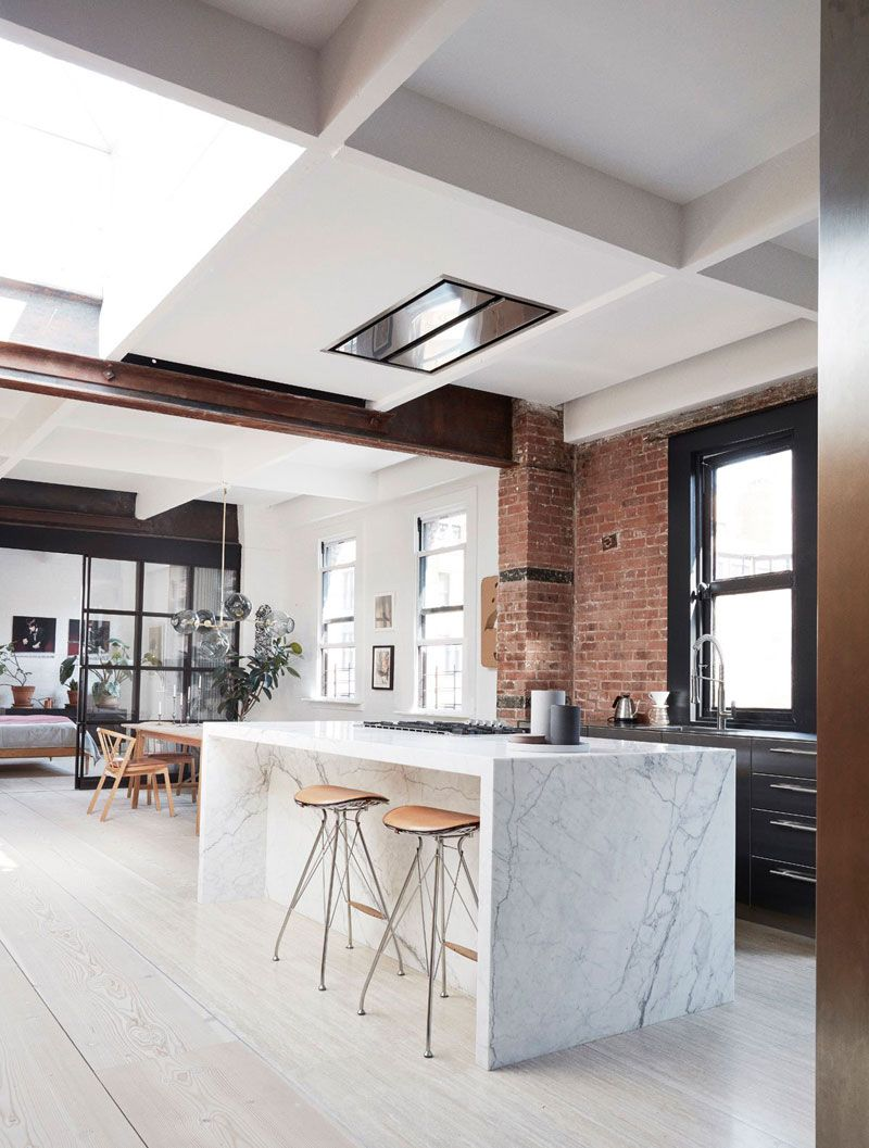 A Stunning Light Filled Loft in New York City – THE STYLE FILES #loftdesign
