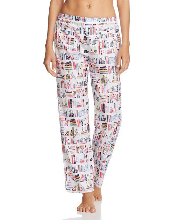 e8a3fd6a86eb Jane   Bleecker New York Bookshelf Pajama Pants