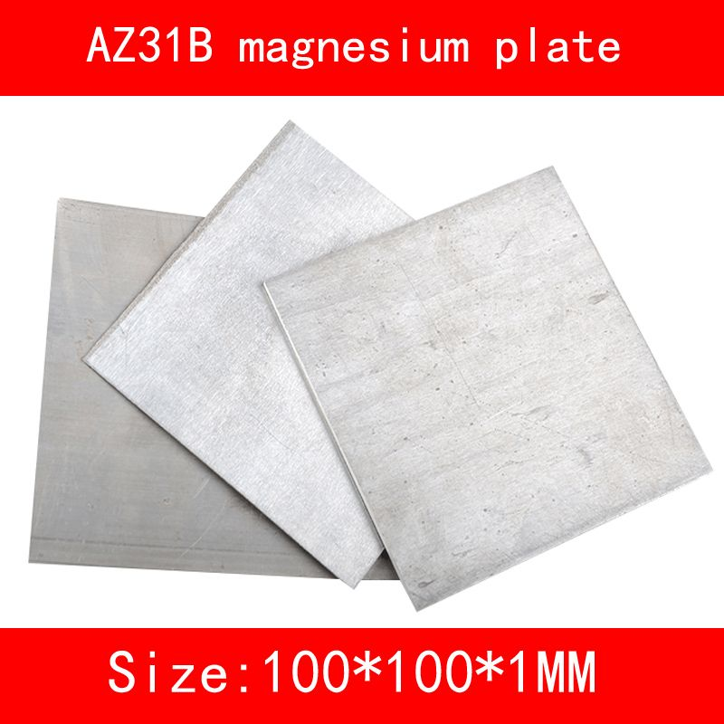 Size Length Width Thickness 100 100 1mm Az31b Magnesium Alloy Plate Mg Metal Sheet Metal Sheet Quality Sheets Cheap Sheets