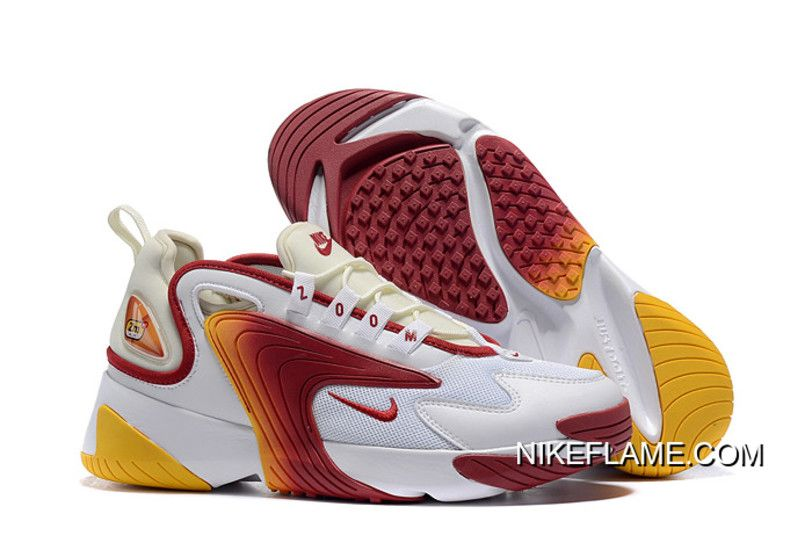 new product bba0b 96056 Authentic Nike Zoom 2K White Red-Yellow, Price   87.34 - Nike Shoes Outlet