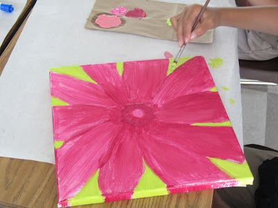 Mother S Day Paintings Lessons With Laughter Flower Painting Lessons Flower Painting Painting Lessons