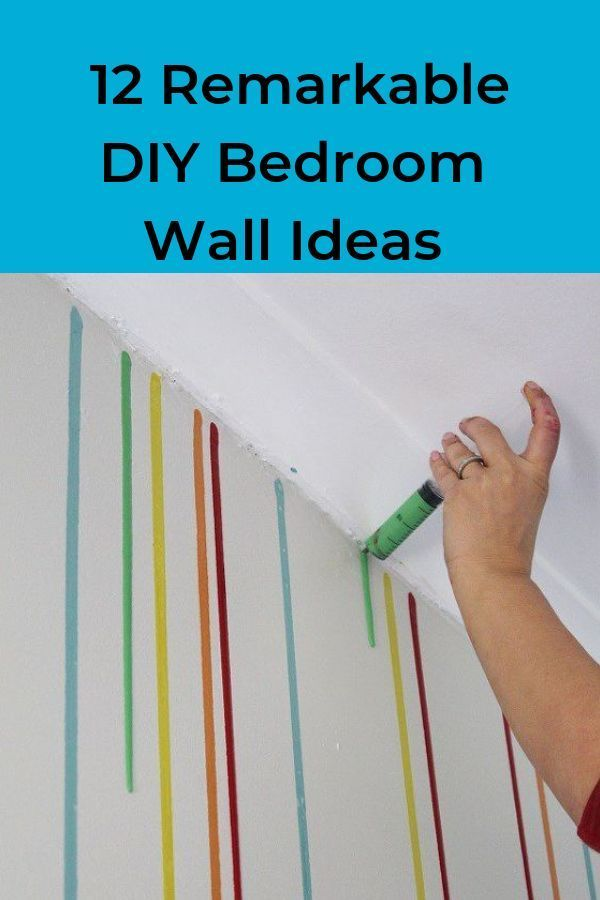 12 Diy Bedroom Wall Painting Ideas You Re Going To Love Bedroom Wall Paint Bedroom Diy Bedroom Wall