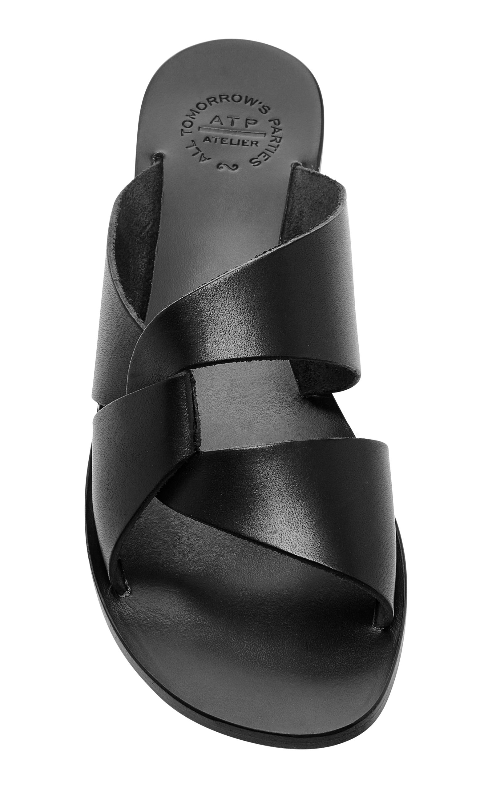56259254a Allai Leather Sandals