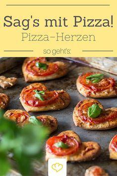 Mach deinem Herzblatt eine Liebeserklärung mit Pizza! Denn wie wir alle wissen: Liebe geht durch den Magen!