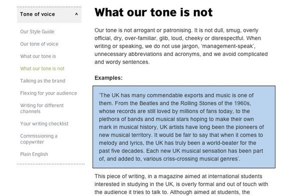 a simple tip for improving your brand tone of voice guidelines
