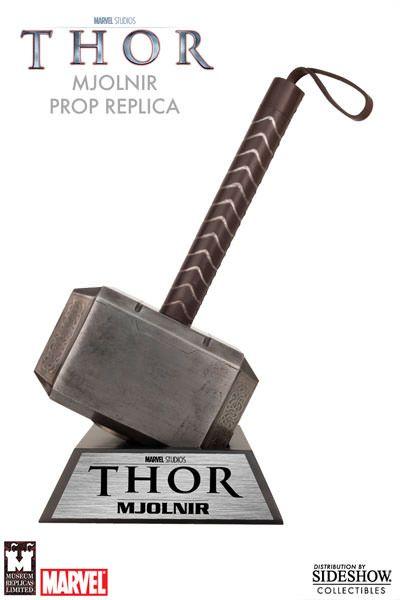 marvel thor hammer prop replica by museum replicas sideshow