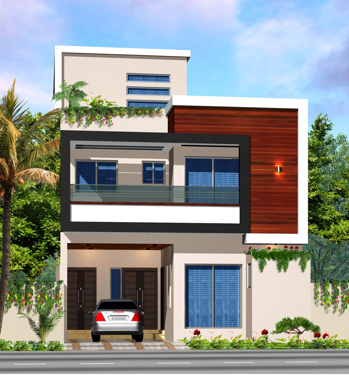 hajvery homes lahore minimalis house duplex independent front elevation also glory architecture gloryxboy on pinterest rh
