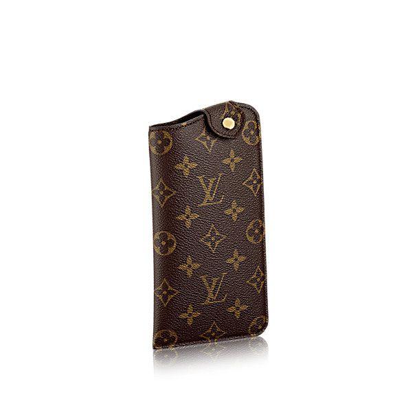7efaeab13b6a COM - Louis Vuitton Sunglasses Case MM (LG) MONOGRAM Small Leather Goods