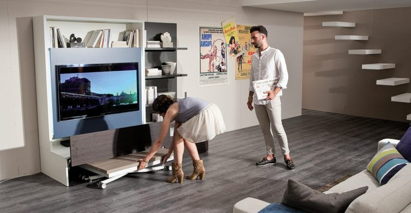 Platzsparende Möbel: Clevere Ideen Für Die Kleine Wohnung #apartment  #wohnungeinrichten #ikea #