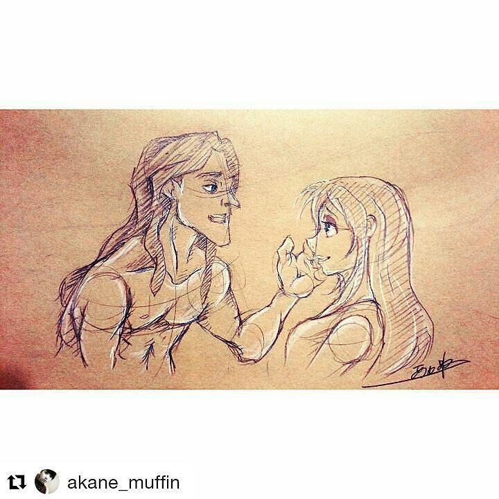 Tarzan And Jane Tarzan Disney Draw Drawing Art Fanart