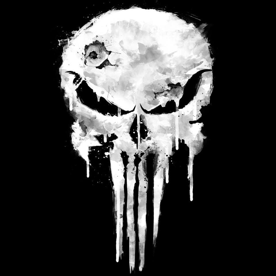 The Punisher logo Punisher art