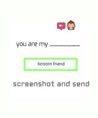 You Are My Take Screenshot And Send Me Video Friends Quotes Funny Friendship Quotes Funny Friendship Quotes In Hindi