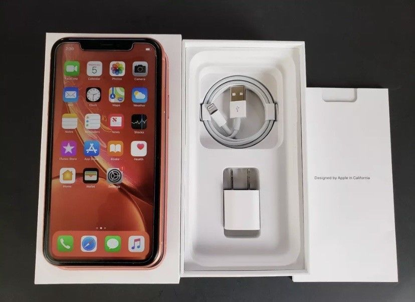 Apple Iphone Xr 128gb Coral Verizon A1984 Cdma Gsm