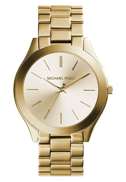 Klassisch Schon Michael Kors Damenuhr In Gold Und Champagner Michael Kors Runway Uhr With Images Gold Michael Kors Watch Women Wrist Watch Stainless Steel Bracelet
