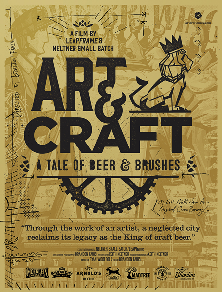 Art & Craft: A Tale of Beer & Brushes | Posters | Beer art