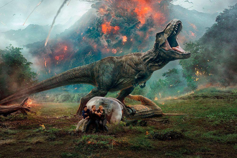 Jurassic World 2 La Nueva Entrega De La Saga Sobre Dinosaurios Más Famosa Y Rentable De La Historia Del Cin Jurassic World Peliculas En Español Latino Jurasico