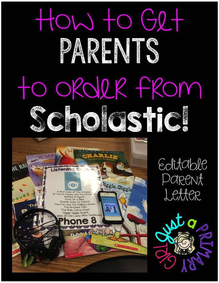 How to Get Parents to Order from Scholastic
