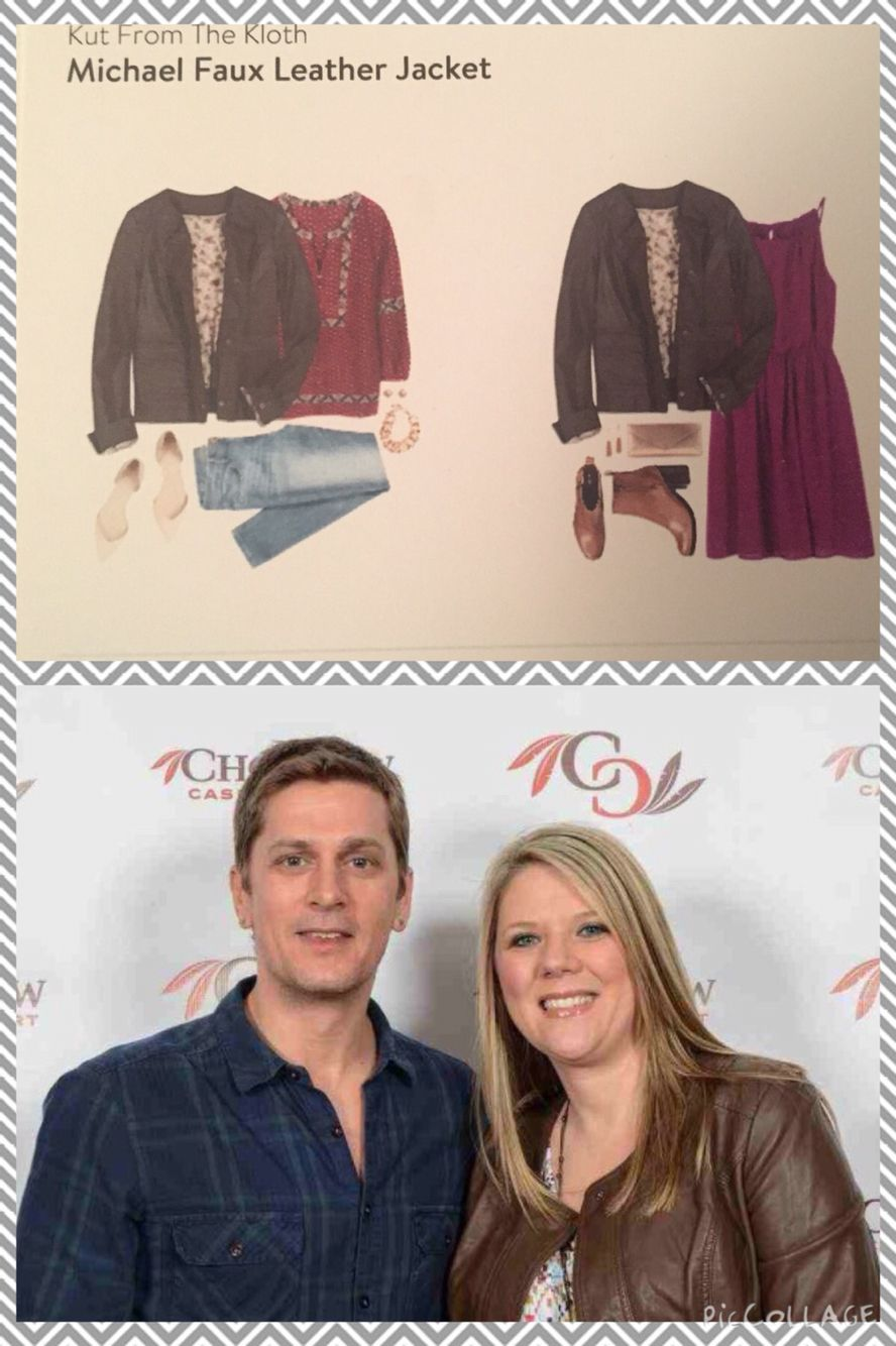 #Stitchfix 1-I told my stylist I was going to a concert and she nailed it with this jacket. Initially I was disappointed that the jacket wasn't black, but #RobThomas approved so it was okay!   https://www.stitchfix.com/referral/4783537