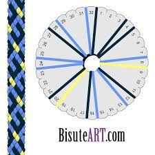 Resultado de imagen para kumihimo patrones en espiral