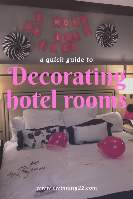 Decorating hotel rooms decorations bachelorette also rh in pinterest