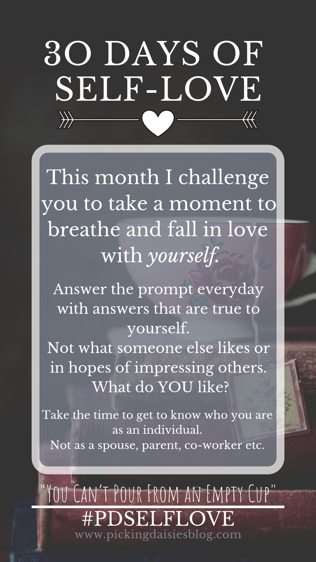 30 Days Of Self Love Journaling And Instagram Challenge