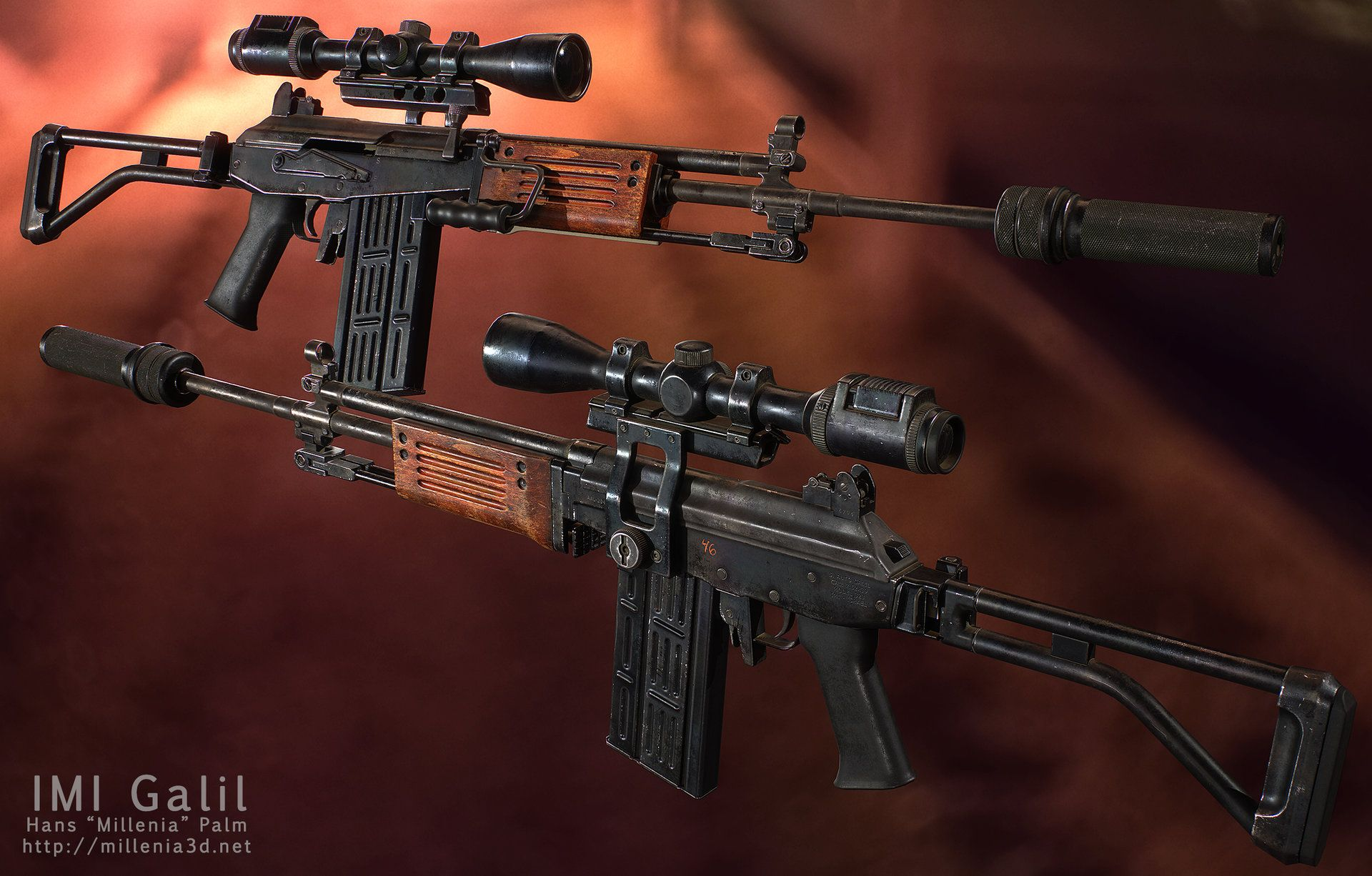 Pin by Dan Greenfield on 3D Props & Weapons - Realistic
