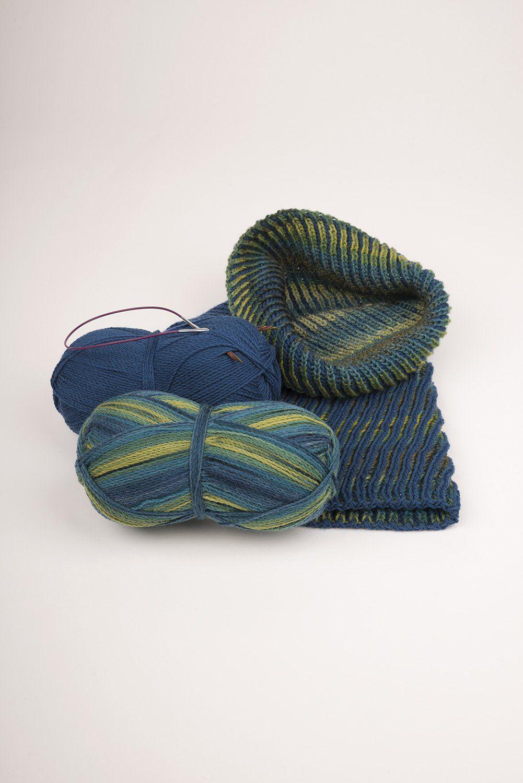 Photo of Strickanleitung Schlaufe aus Sockenwolle