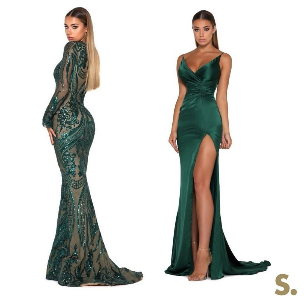 Emerald evening gowns by Portia and Scarlett at SHAIDE Evening Gown ...