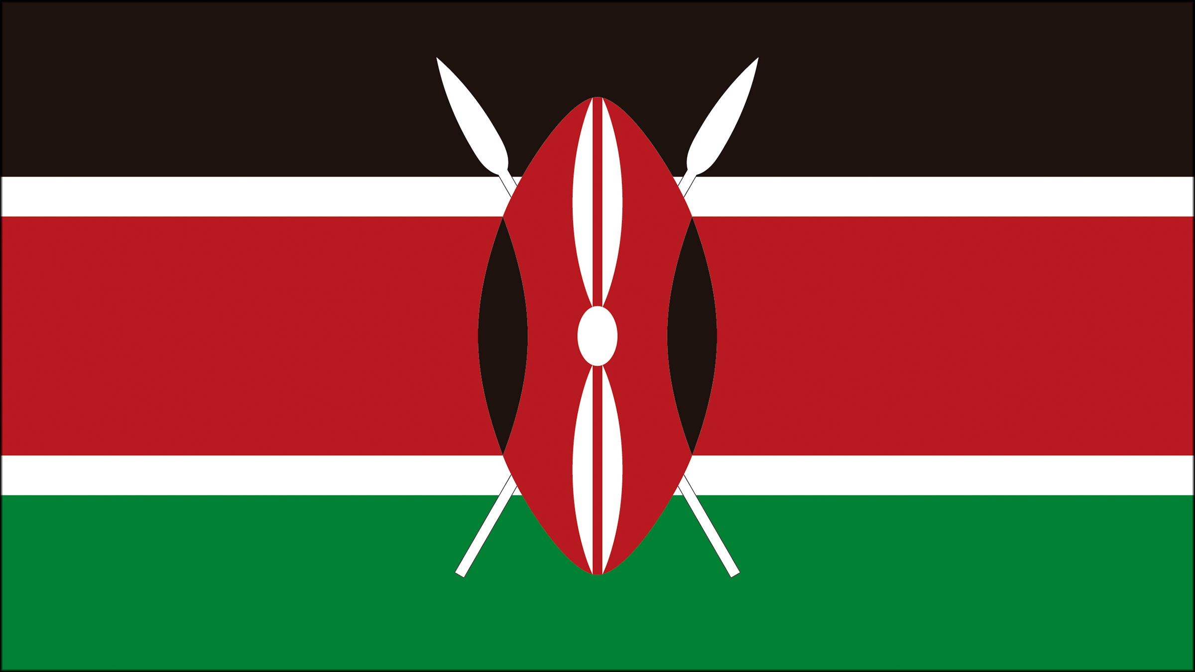 Bandera De Kenia Bandera De Kenia Kenia Bandera De Africa