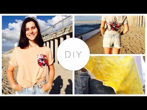 Как сшить футболку? ♥ МК ♥ SonnyCreate ♥ how to sew a t-shirt ♥ DIY - YouTube