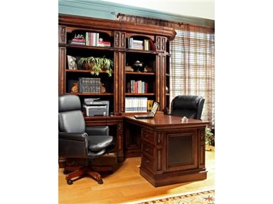 Shop For Parker House 2pc Peninsula Desk Leo 490 2 And Other Home