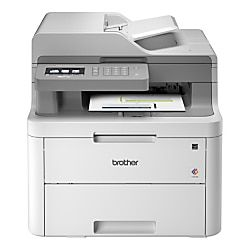 Brother Mfc L3710cw Compact Wireless Digital Color Laser All In One Printer Scanner Copier Fax In 2020 Multifunction Printer Laser Printer Brother Mfc