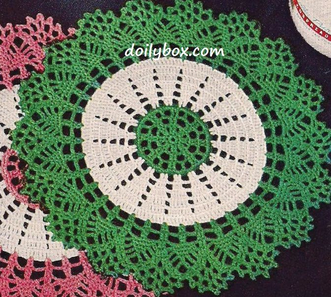 Free Vintage Crochet - The Gift Doily Pattern | Doily | Pinterest ...