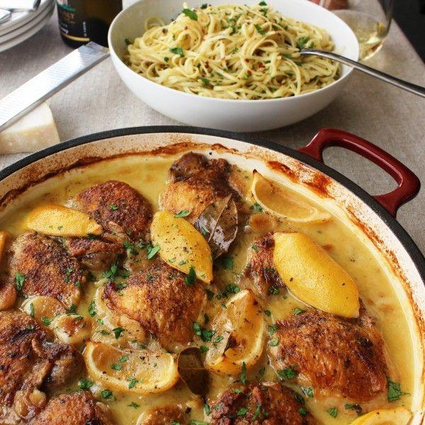 Italian Chicken With New Orleans Spaghetti Bordelaise Italian Chicken Recipes Haitian Food Recipes Recipes