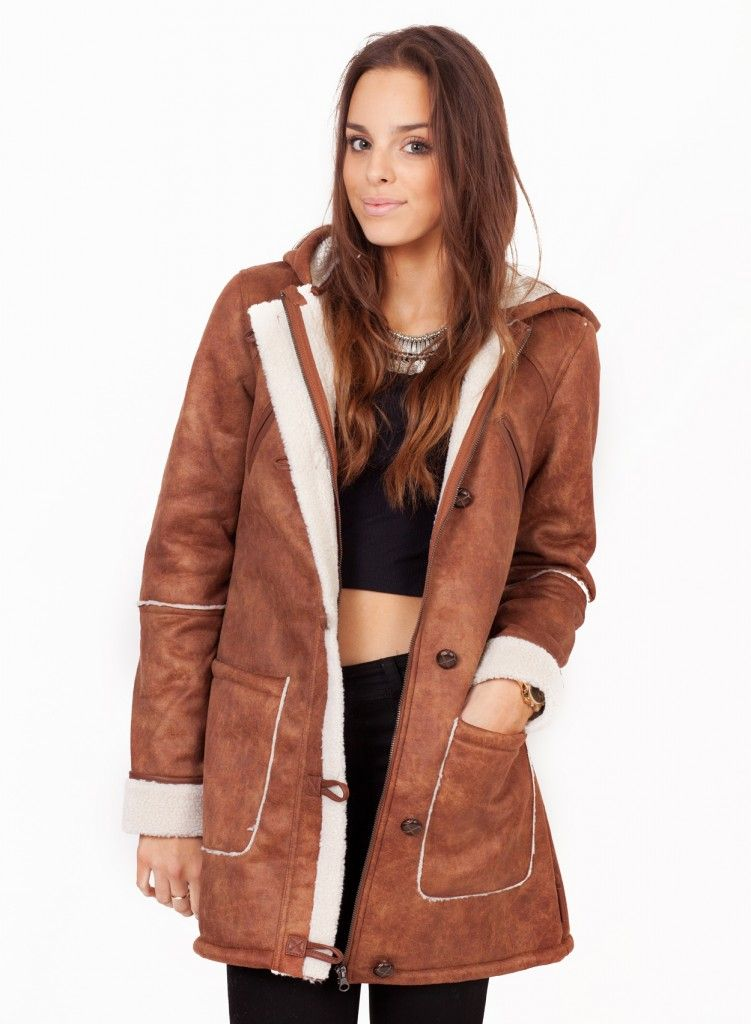 Best Shearling Coats Designs | Finest Shearling Coats Ideas ...