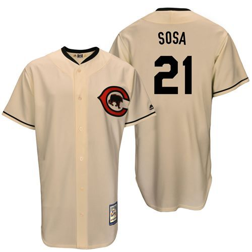 release date: d4d8f 62051 sammy sosa 21 white authentic jersey sale