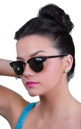 Óculos Ray Ban Clubmaster Preto   S t y l e ✨   Wholesale ... 11a9b482b2