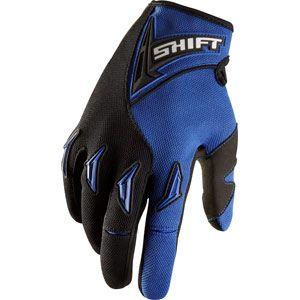 Shift Racing Assault Gloves Blue