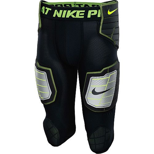 NIKE Men's Pro Combat Hyperstrong 3.0 Compression Hard-Plate 3/4 Football  Pants