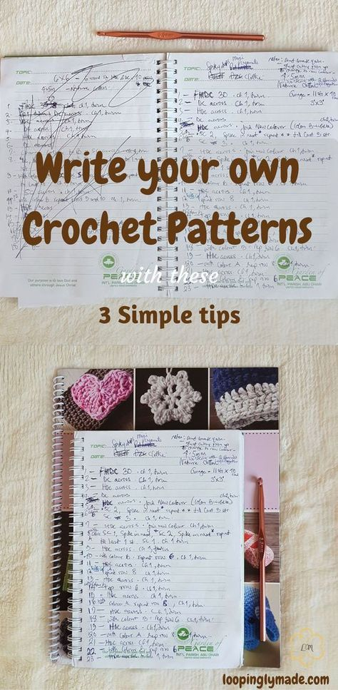 Writing Crochet Patterns Is A Great Skill To Have As A Crocheter