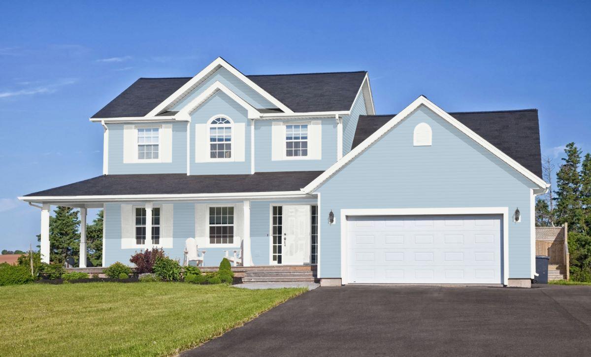 Sw Honest Blue 6520 Outdoor House Paint White Exterior Paint