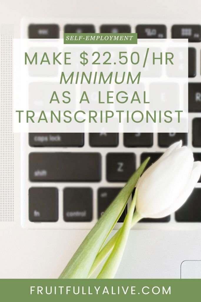 legal transcriptionist | at-home business idea | make money from ...